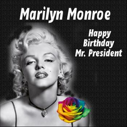 Marilyn Monroe le canta Happy Birthday Mr. President a John F. Kennedy