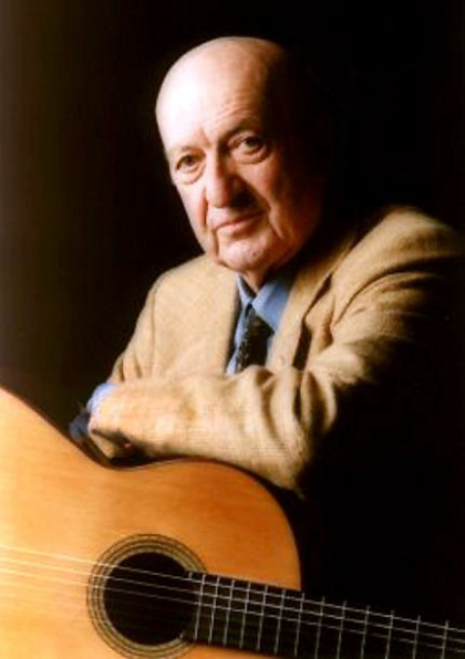 Eduardo Falú, notable guitarrista y compositor de gran calidad